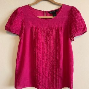 *Marc by Marc Jacobs Pink Silk Blouse* Size 6